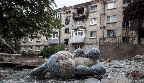 L'Europa continua ad ignorare la rovina che si è abbattuta sul Donbass