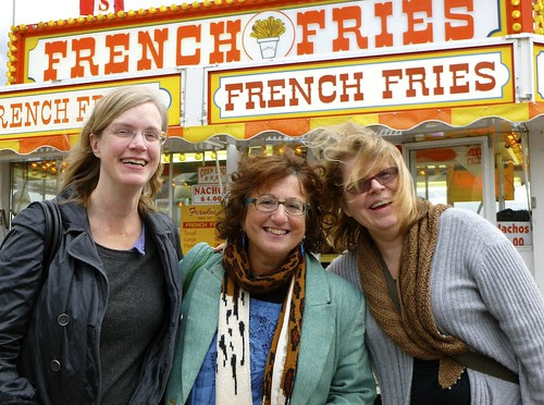 Ann Shayne, Gale Zucker, Kay Gardiner, french fries