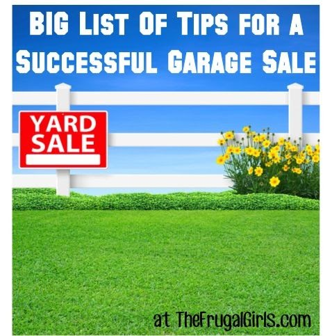 Home Design Photos 31 Tips For A Successful Garage Sale