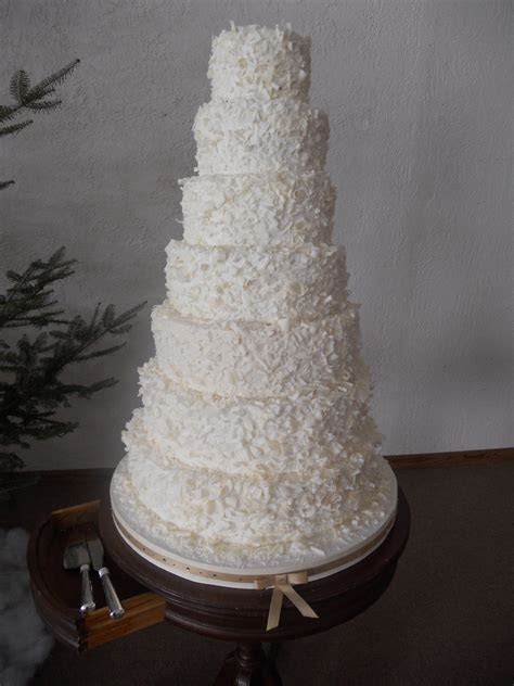 7 Tiered Wedding Cake   CakeCentral.com
