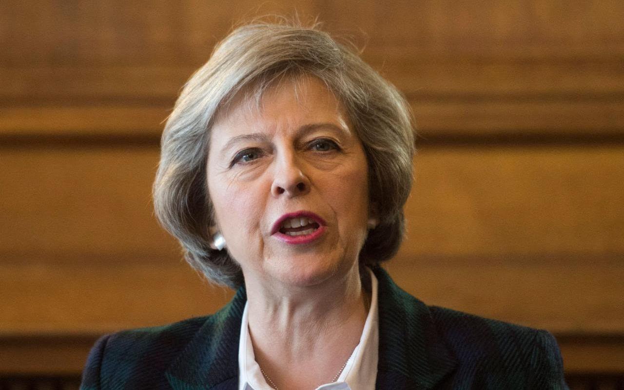 THERESA MAY, U.K. Prime Minister