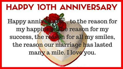 10th Year Marriage Anniversary Wishes, Quotes, Wallpaper