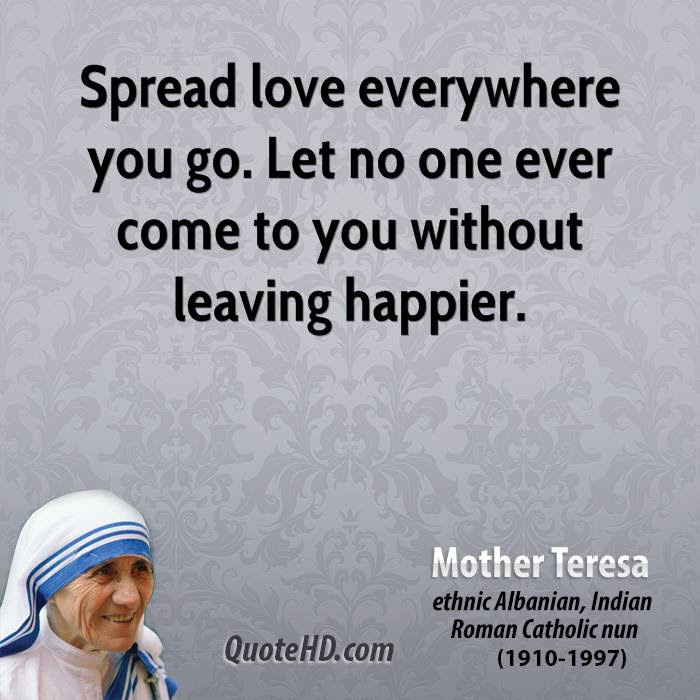 Mother Teresa Love Quotes Quotehd