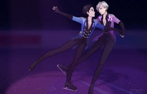Wallpaper Yuri Katsuki, Yuri on the ice, Yuri on Ice, art