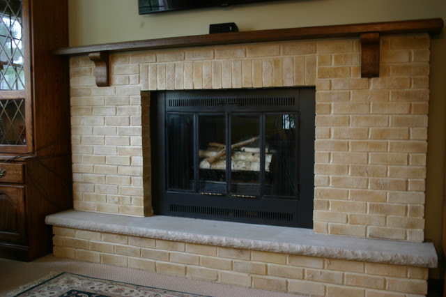 Fireplace Makeover - traditional - living room - other metro - by ...