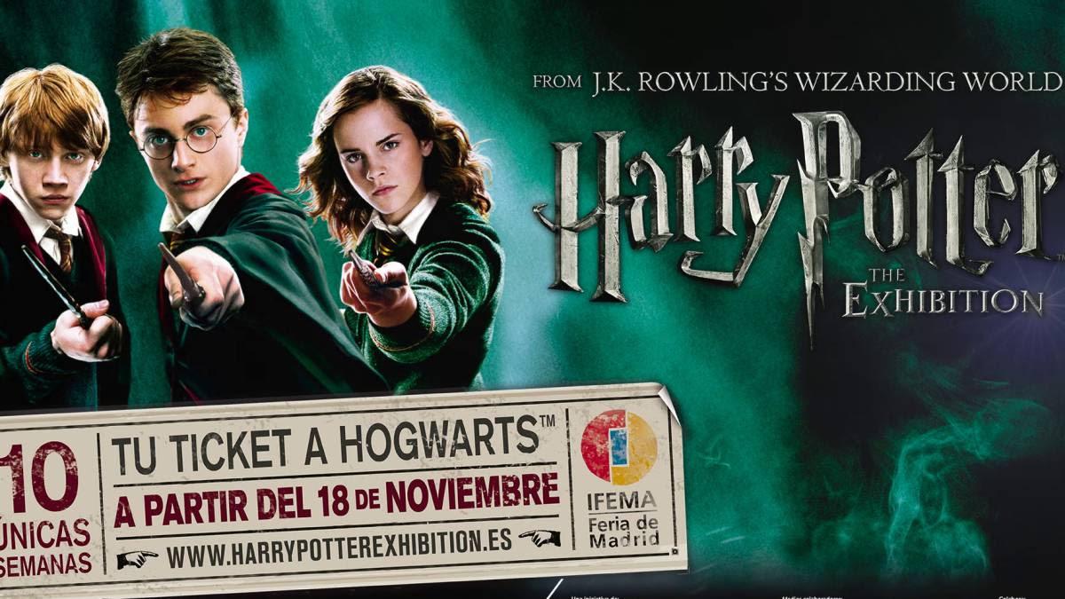 Resultado de imagen de Exposición Harry Potter Madrid