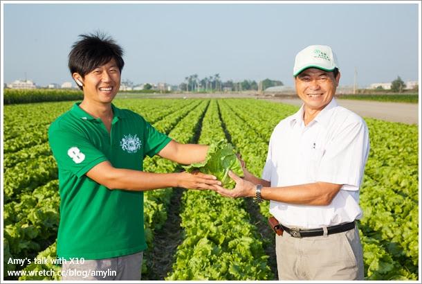 新湖合作農場主人-陳清山與第二代接班人