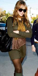 Jessica Alba wearing linQ