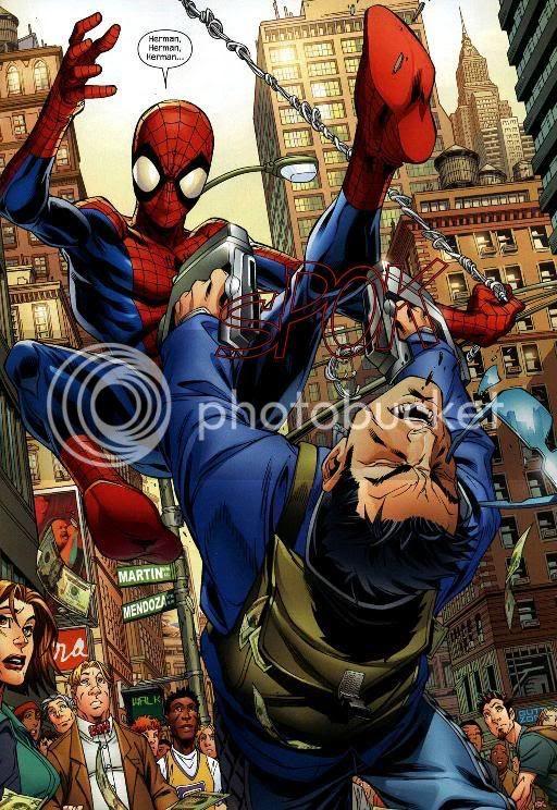 Homem-Aranha vs Shocker, de novo