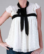Twiggy Bow Top