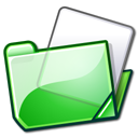 Nuvola filesystems folder green