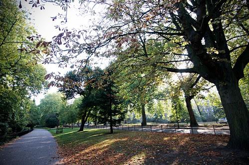 Sunday Morning in Battersea Park