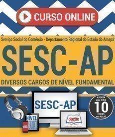 Curso OnLine Processo Seletivo SESC/AP 2017