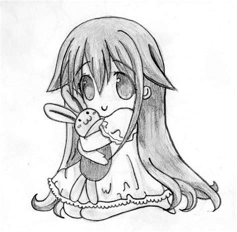 anime cute drawing  color pencil sketch pencil sketch