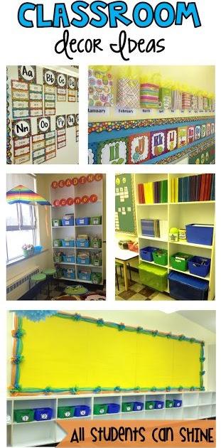 Orange Classroom Decor ~ Classroom decor ideas chevron chic collections
