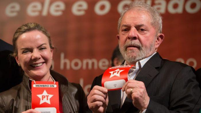 DiretorioPT-GleisiHoffmann-Lula-FOTO LULA MARQUES