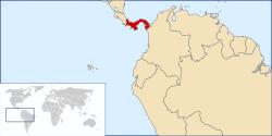 Vị trí của Panama