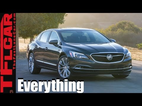 2017 Buick LaCrosse Draws Heavy Inspiration from Avenir Concept