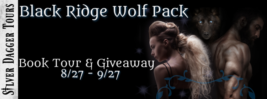 Book Tour Banner for paranormal romance series The Black Ridge Wolf Pack by Lilli Carlisle with a Book Tour Giveaway
