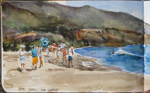Leo-Carillo-Beach by Spencer Mackay