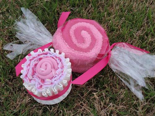 Cupcake and Candy Swirl
