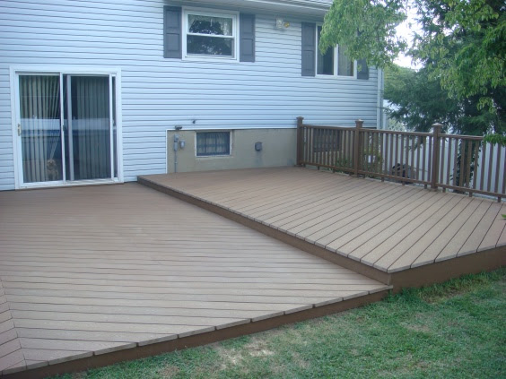 Ideas For Deck Over Concrete Patio And Beyond-pics- - General ...