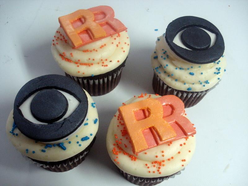 Rachael Ray and CBS Cupcakes