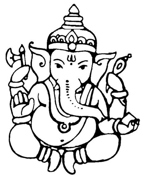 lord ganesh   cake clipart  clipart