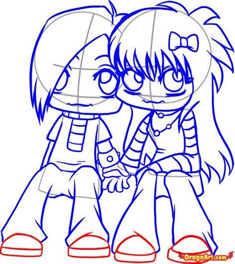 step    draw emo love
