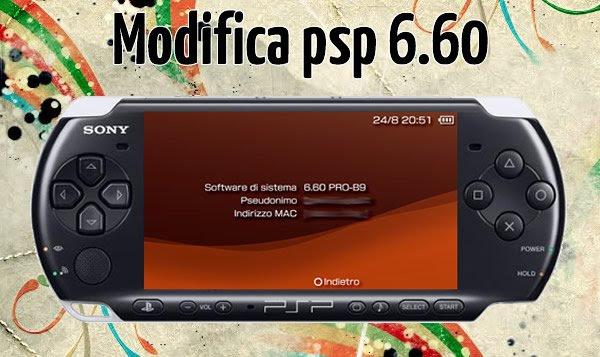 modifica psp 6.60