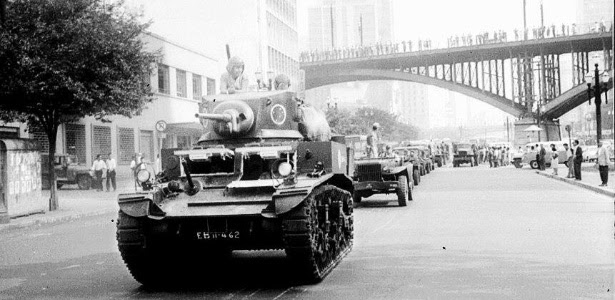 Resultado de imagem para golpe militar