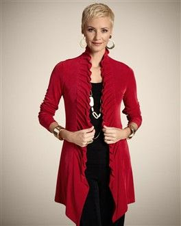 Chico's Travelers Princess Pleat Jacket