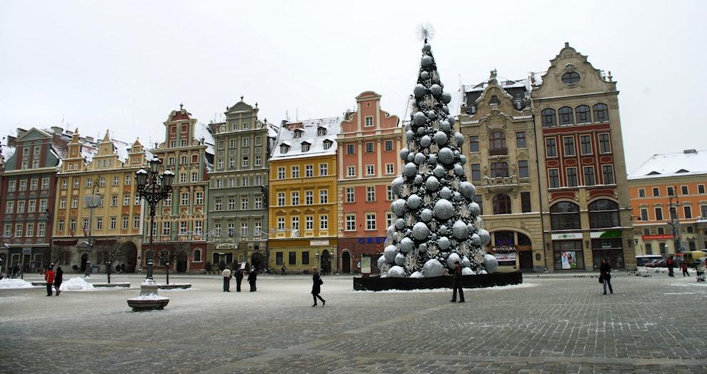Wrocław zimą Winter