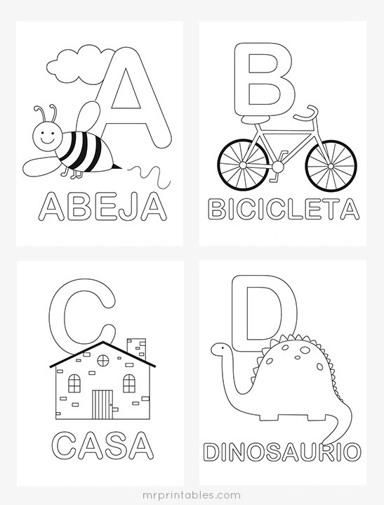 440 Coloring Pages Letters Printable  Images