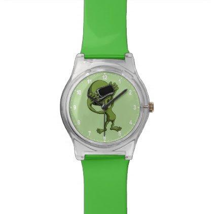 VR Alien Wrist Watch
