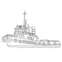 Dibujos Para Colorear Barco De Pesca Eshellokidscom