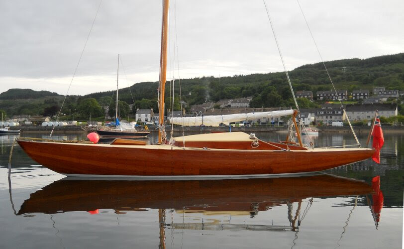 Wooden Classic 23ft Day Sailer - NOT FOR SALE, details for information