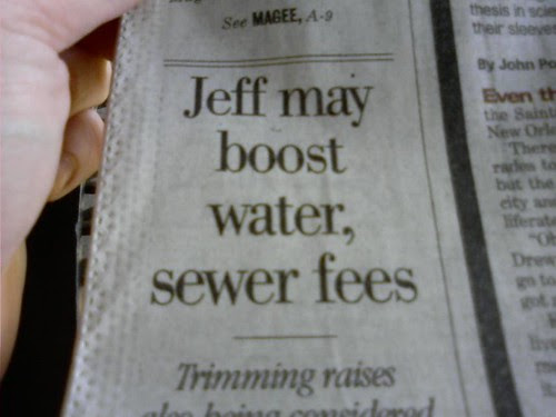 Jeff may boost fees