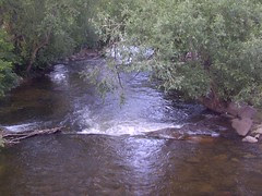 Stream through Boulder