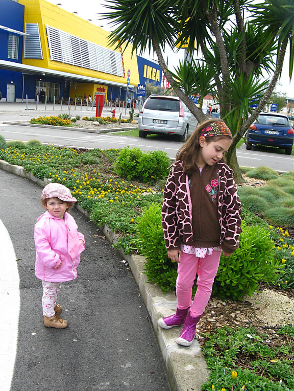 in front of ikea