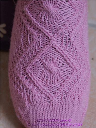 Englantine socks - close-up