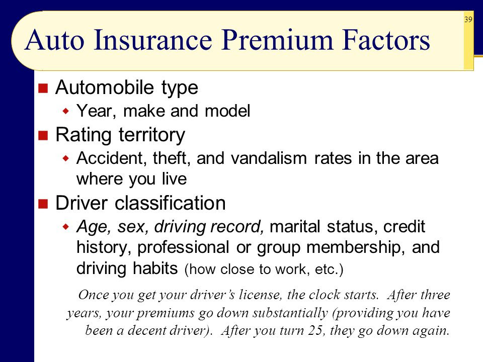 CHAPTER 8 Property and Motor Vehicle Insurance  ppt video online download