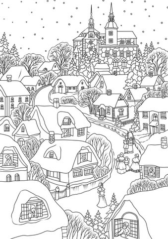 860 Christmas Love Coloring Pages  Images