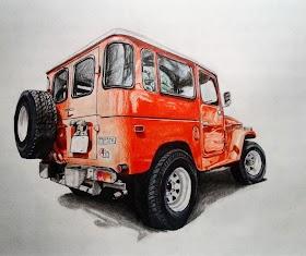 Sketsa Mobil Jimny