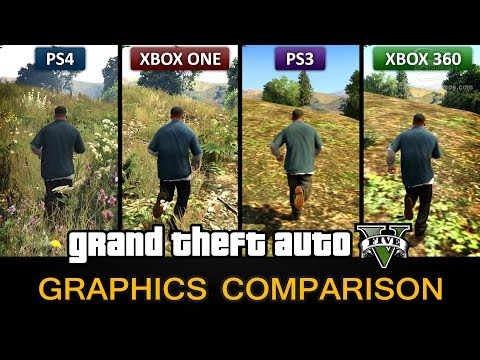 Game Play Gta 5 Gameplay Graphics Comparison Ps4 Xbox