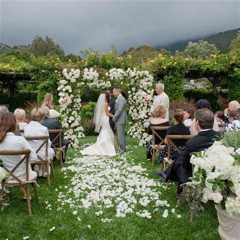Lush and Green Outdoor Wedding Ceremony // Susan Bordelon