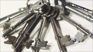 Bunch of keys, BBC