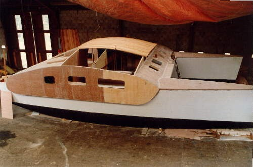 how to build a wooden boat book