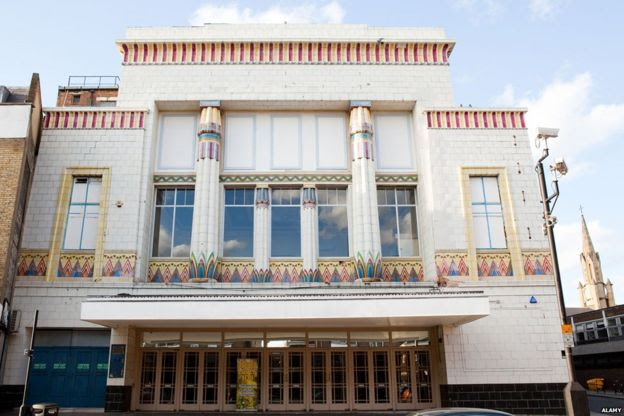 Former Carlton Cinema on Essex Road, London