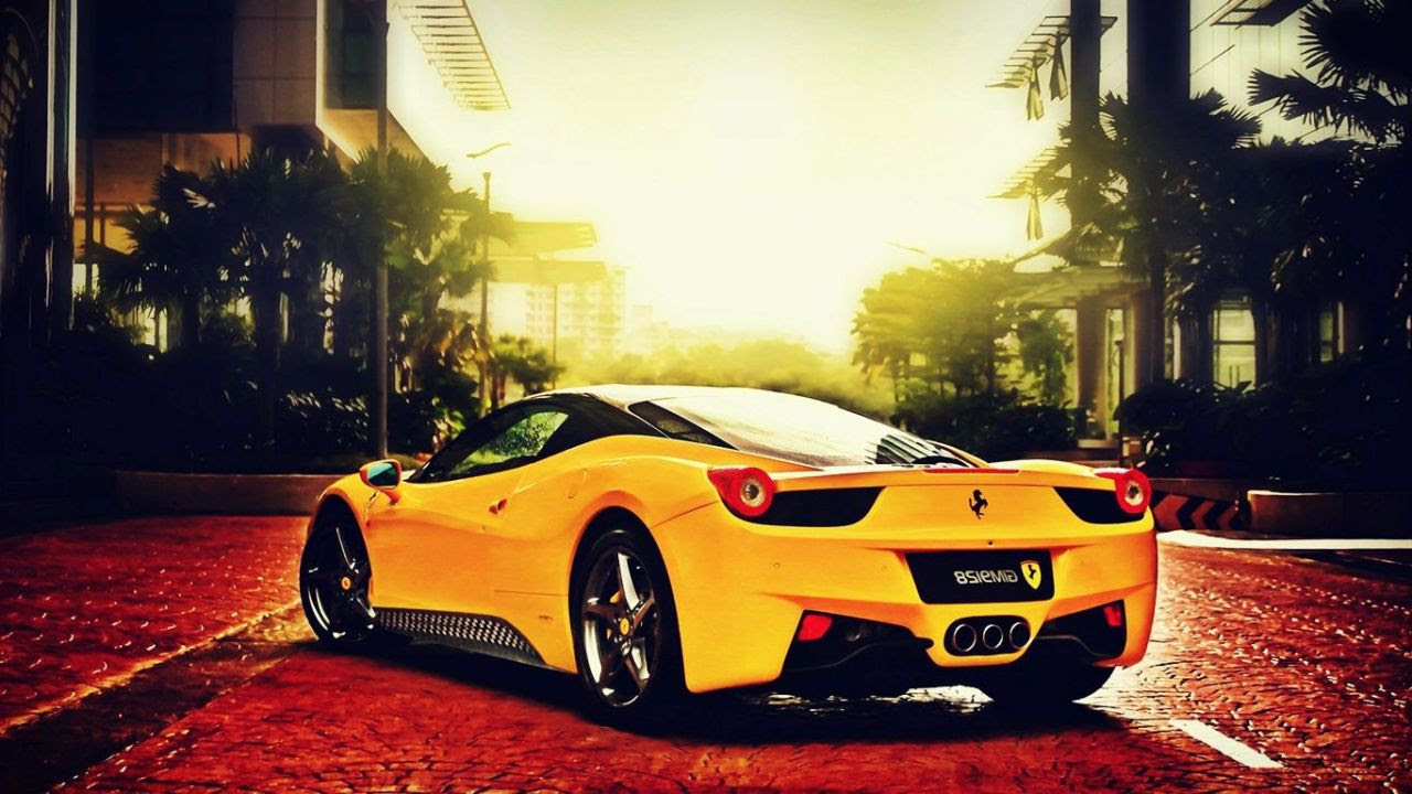 Ferrari Cars Wallpaper Yellow Ferrari 458 Italia Cool Wallpaper